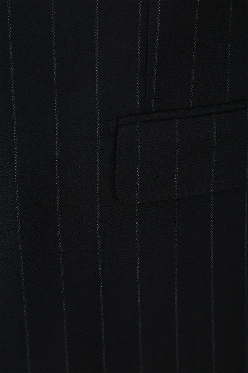 DOLCE & GABBANA: Martini pinstriped wool blend two-pieces suit Color Grey_7