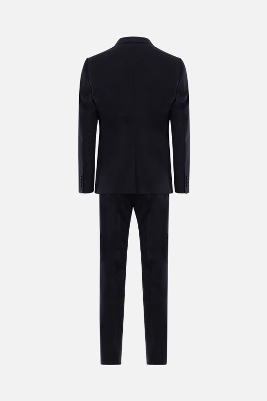 DOLCE & GABBANA: Martini stretch wool two-pieces suit Color Blue_2