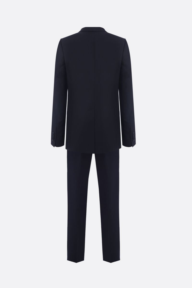 DOLCE & GABBANA: lightweight wool tuxedo suit Color Black_3