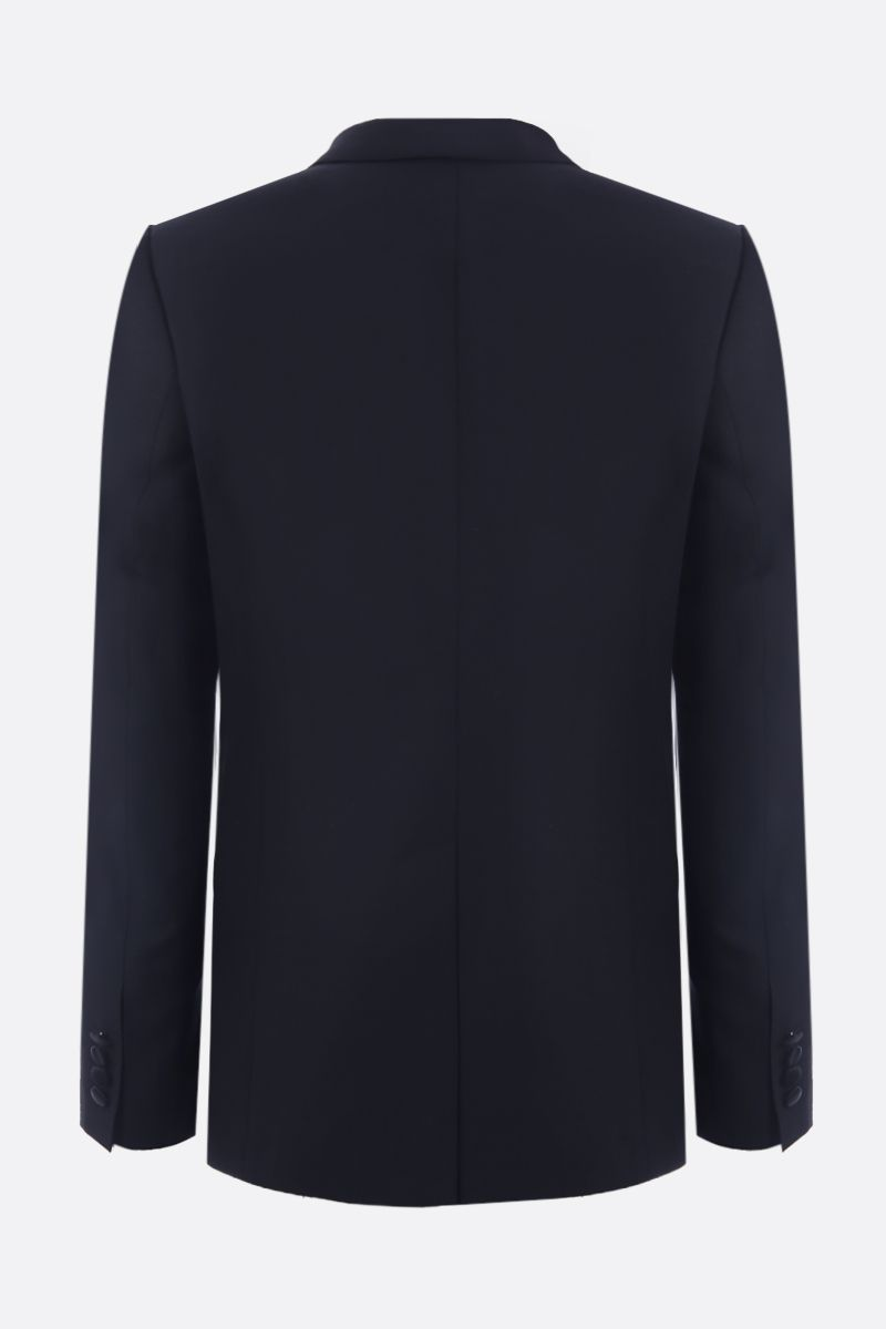 DOLCE & GABBANA: lightweight wool tuxedo suit Color Black_5