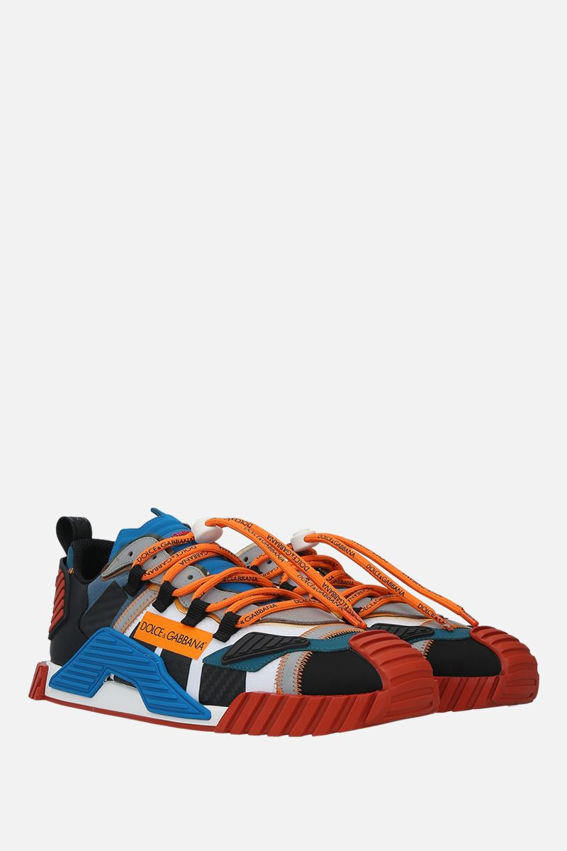 DOLCE & GABBANA: NS1 sneakers in a mix of materials_2