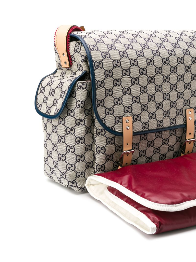 GUCCI CHILDREN: GG canvas changing bag_2