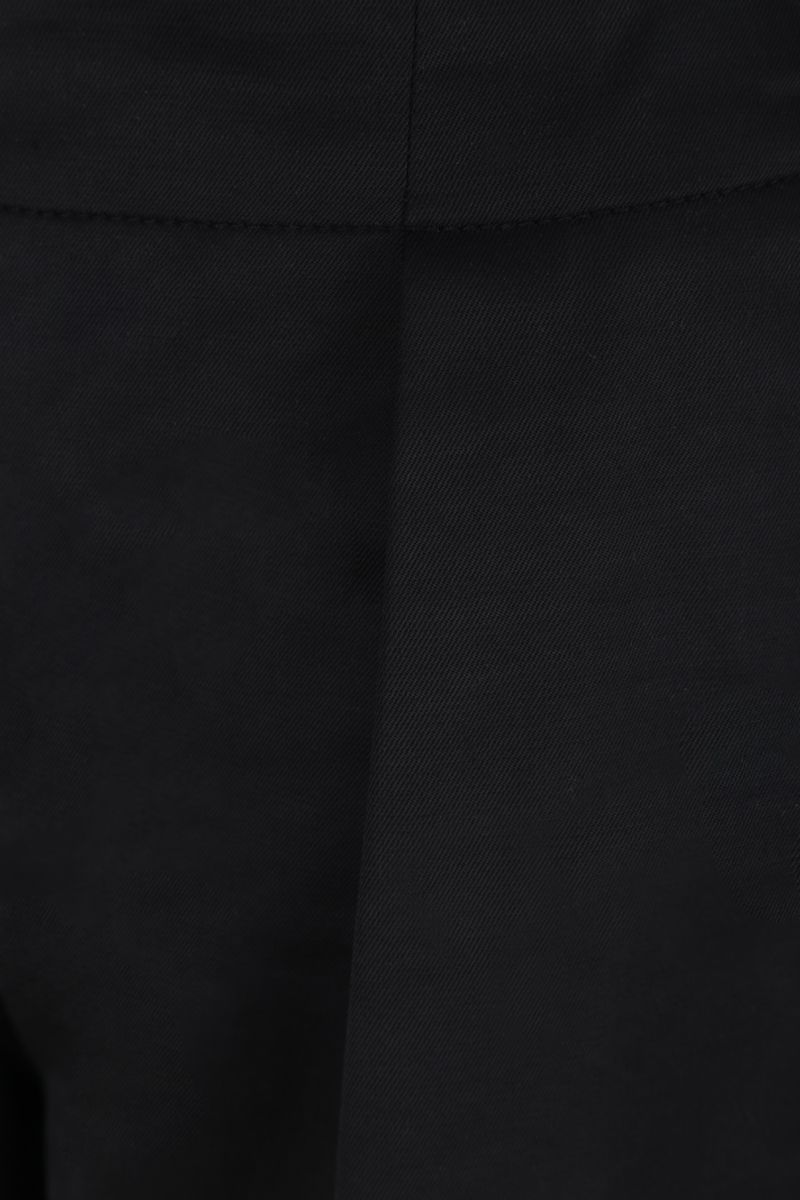 SEE BY CHLOÈ: technical cotton shorts Color Black_3