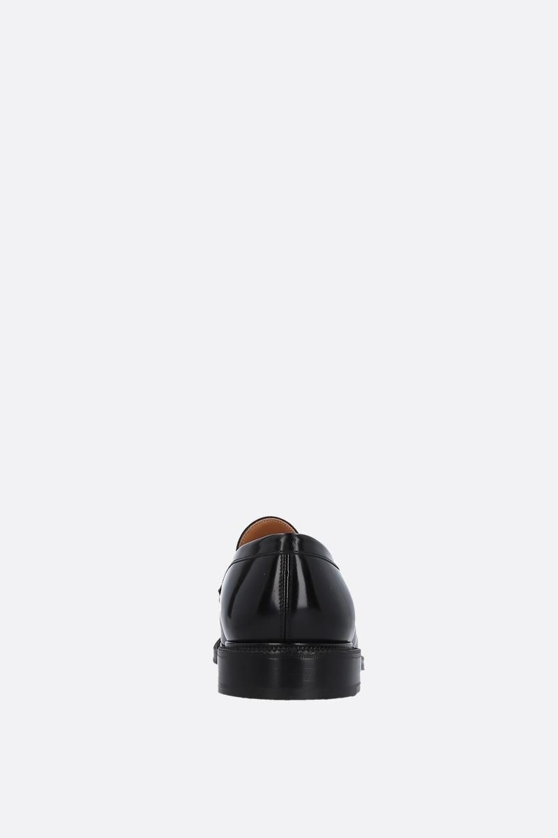 CHURCH'S: Staden loafers in brushed calf Color Black_4