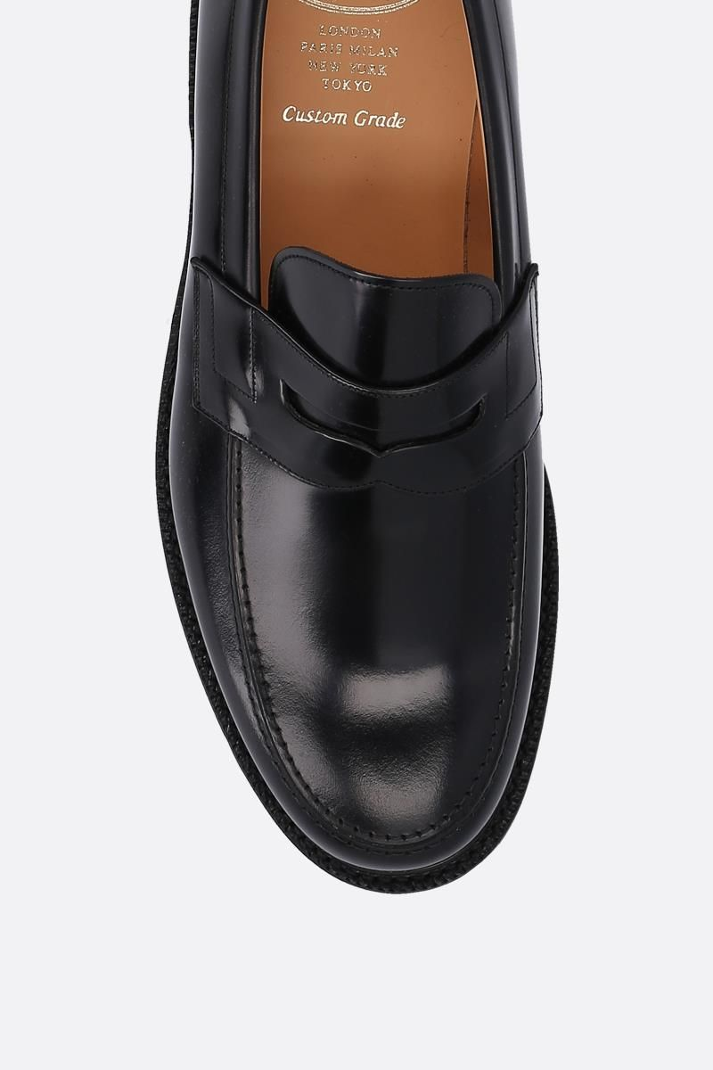 CHURCH'S: Staden loafers in brushed calf Color Black_5