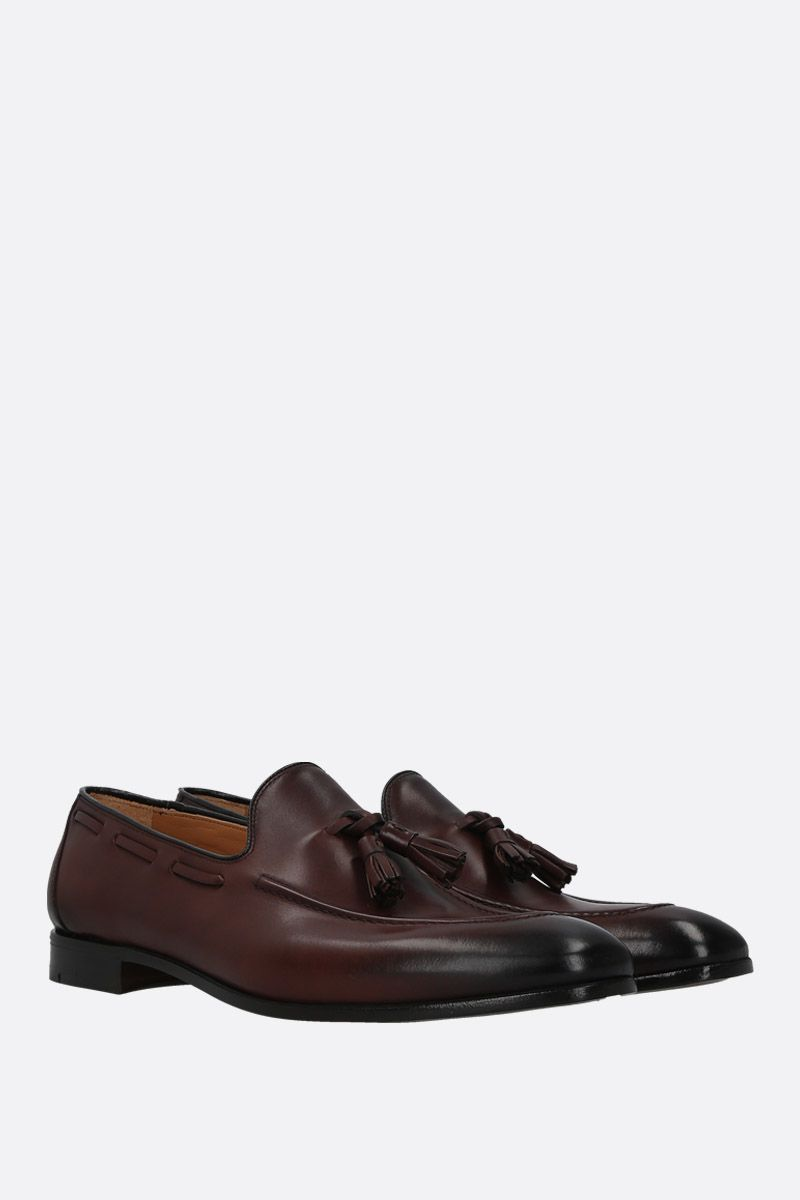 CHURCH'S: Doughton smooth leather loafers Color Brown_3