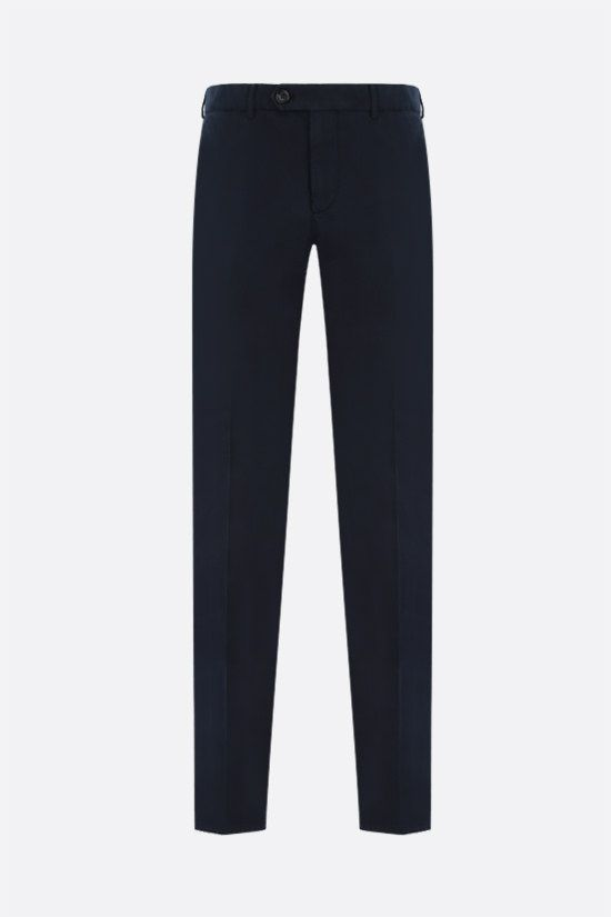 BRUNELLO CUCINELLI: chino cotton pants Color Blue_1