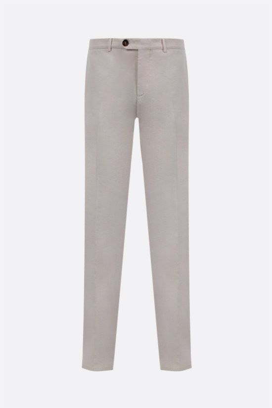 BRUNELLO CUCINELLI: cotton chino pants Color White_1