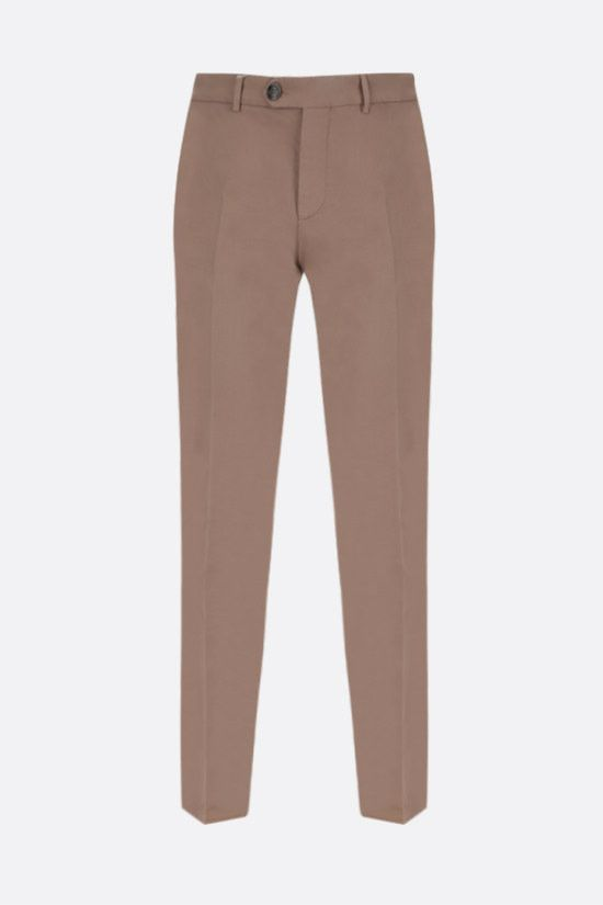 BRUNELLO CUCINELLI: cotton chino pants Color Neutral_1