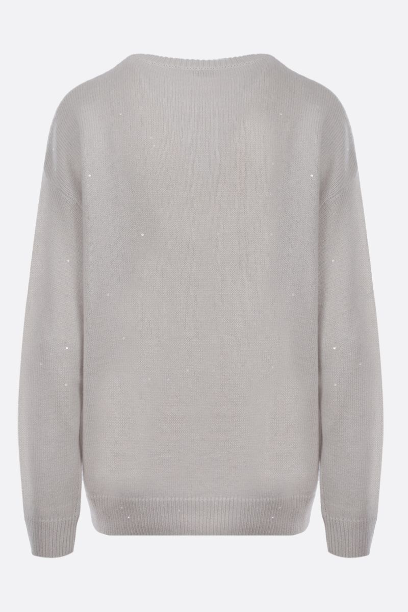 BRUNELLO CUCINELLI: sequinned cashmere silk blend pullover_2