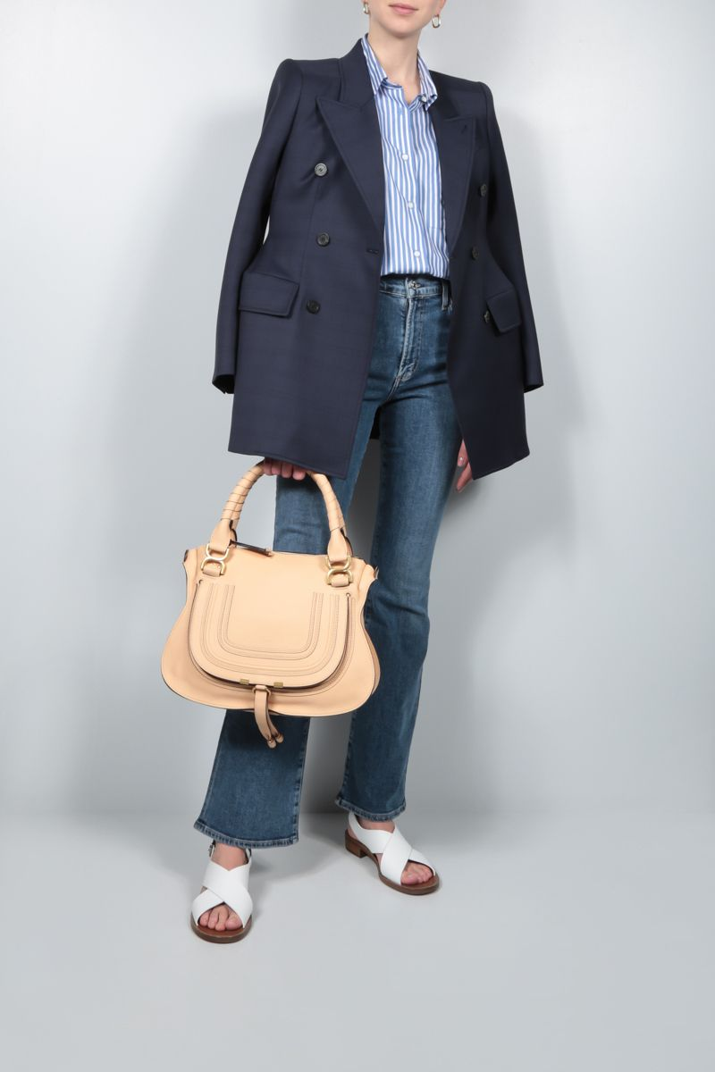 CITIZENS OF HUMANITY: jeans flare Lilah Colore Blu_2