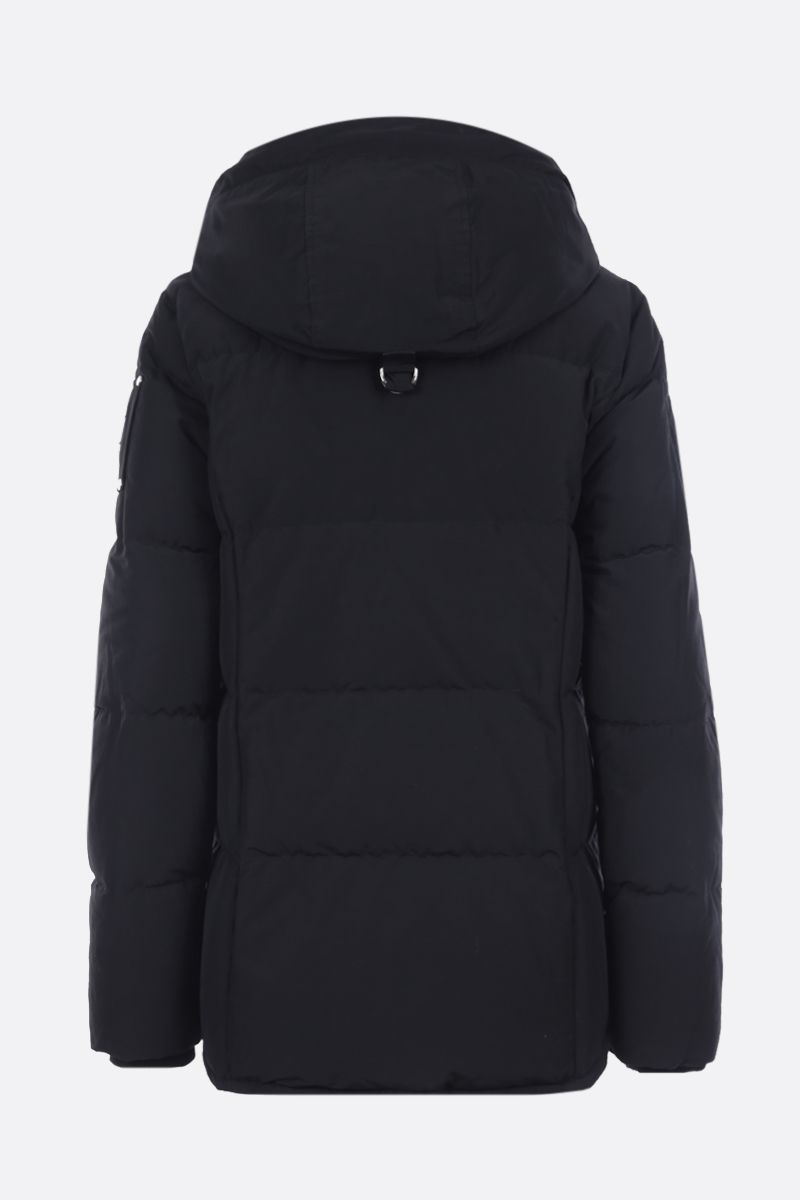 MOOSE KNUCKLES: Homewood technical cotton down jacket Color Black_2