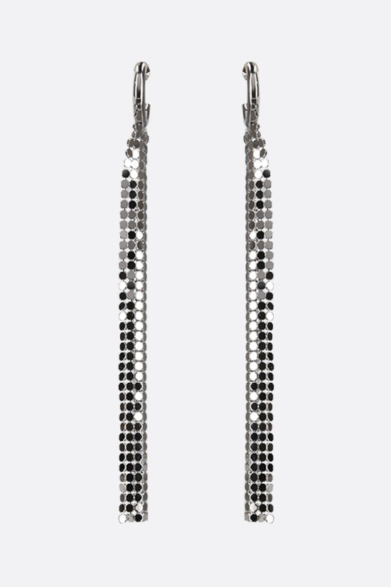 PACO RABANNE: metal mesh earrings Color Silver_1