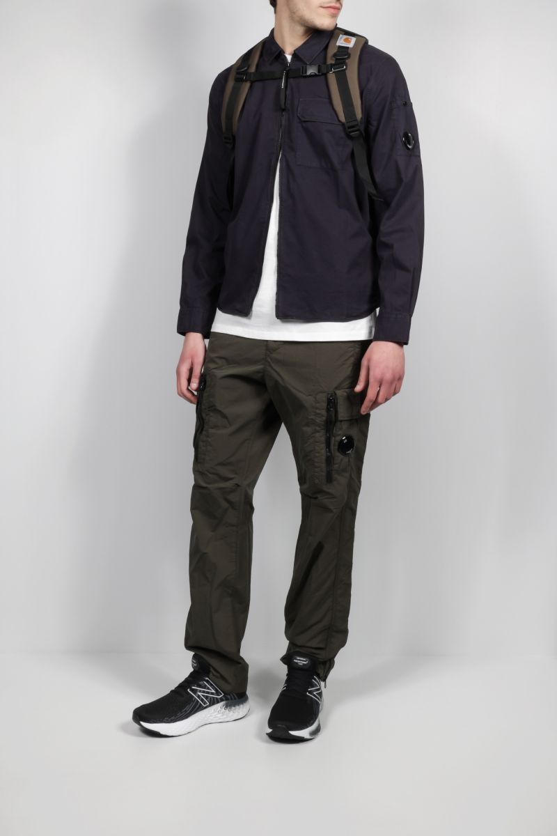 CP COMPANY: nylon cargo pants Color Green_2