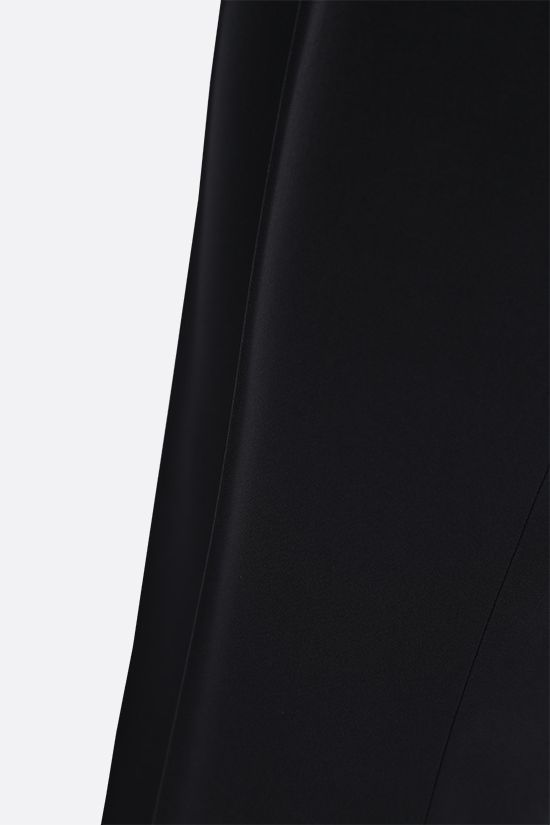 ALEXANDER McQUEEN: straight-fit stretch cady pants Color Black_5