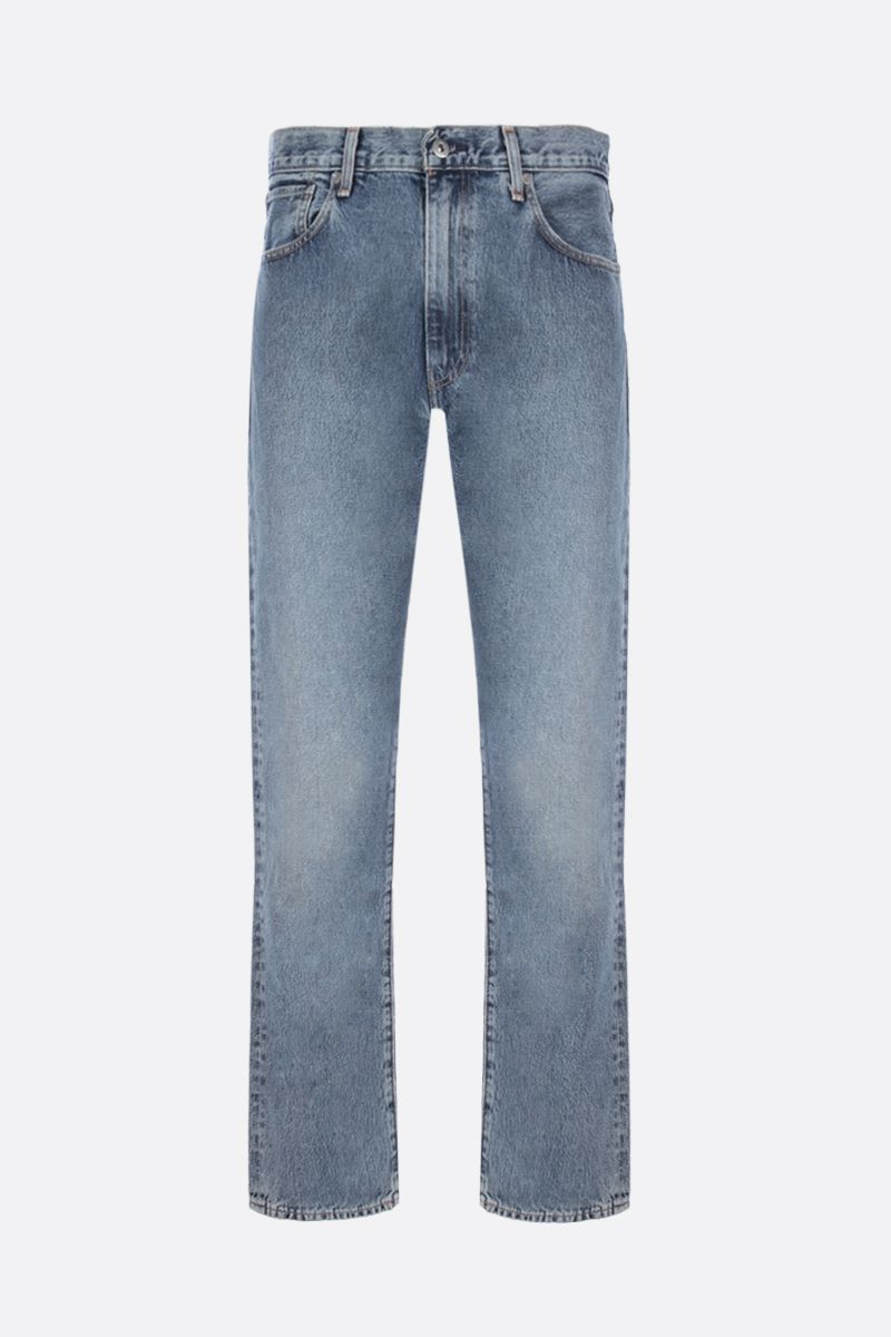 LEVI'S MADE & CRAFTED: 551™ Z striped jeans Color Blue_1