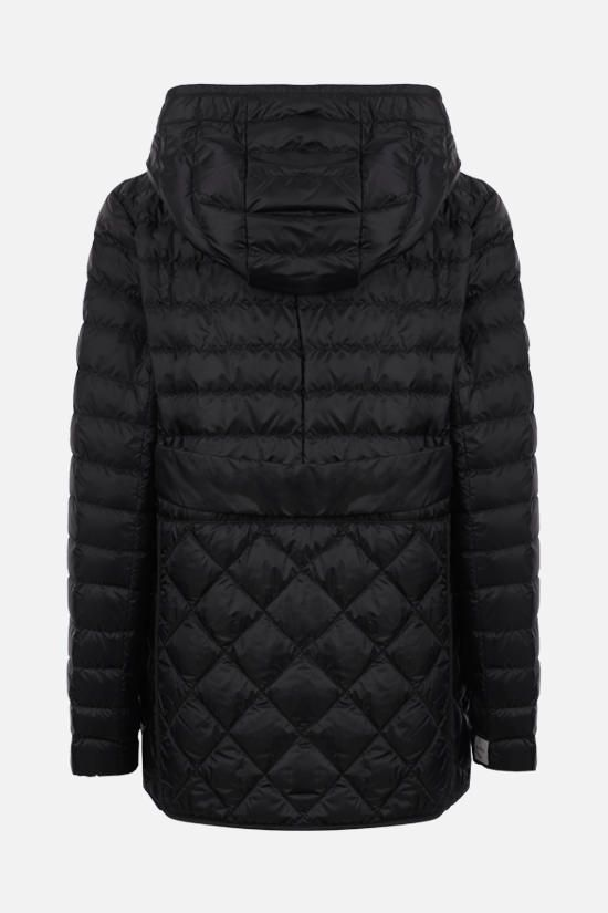MAX MARA THE CUBE: quilted nylon down jacket Color Black_2