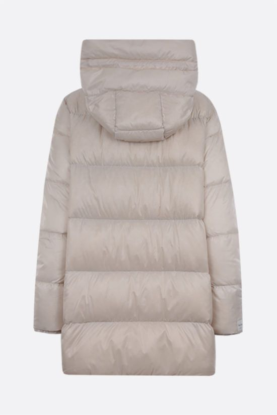 MAX MARA THE CUBE: Seicar technical taffetà down jacket Color White_2
