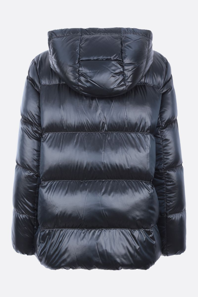 MAX MARA THE CUBE: Spacey nylon down jacket Color Blue_2