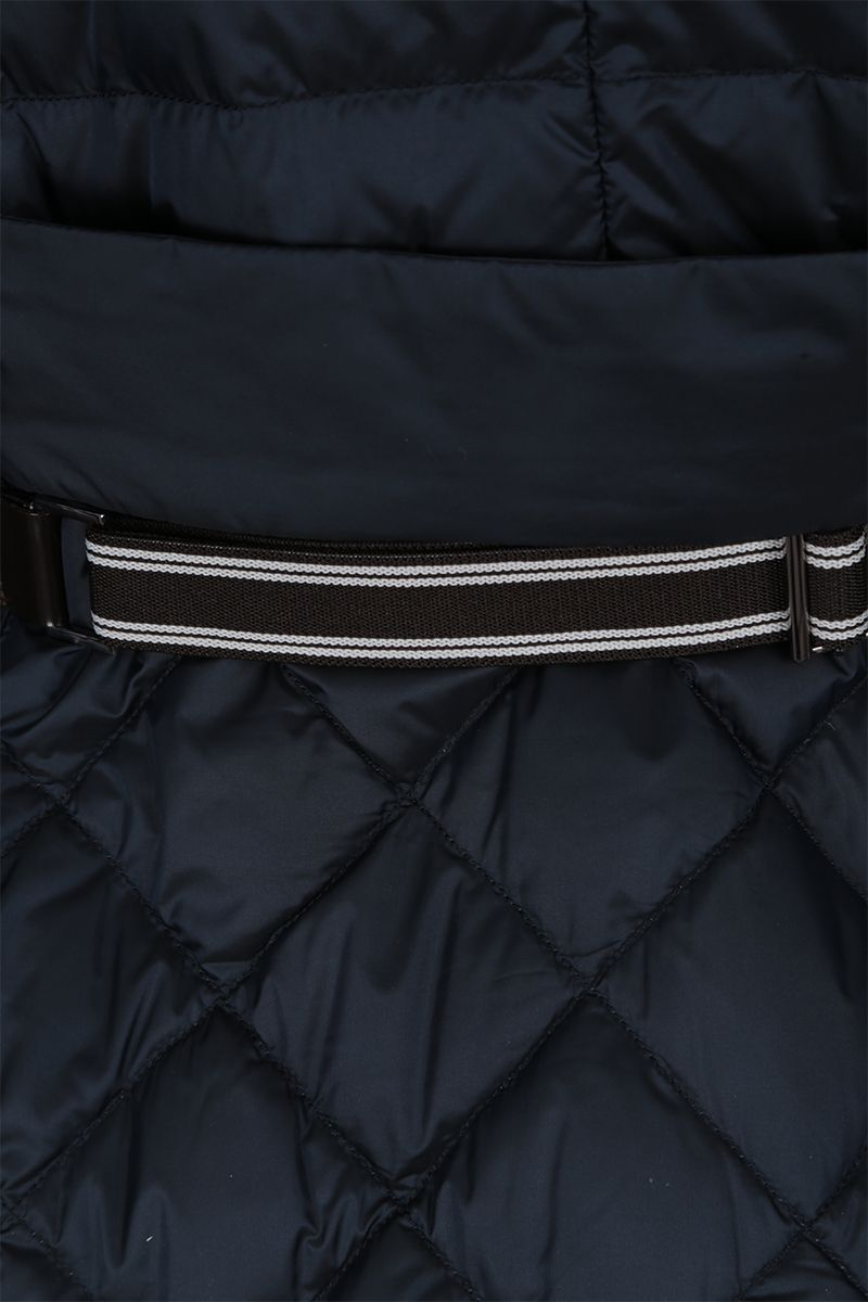 MAX MARA THE CUBE: Etrevi down jacket in nylon Color Blue_3