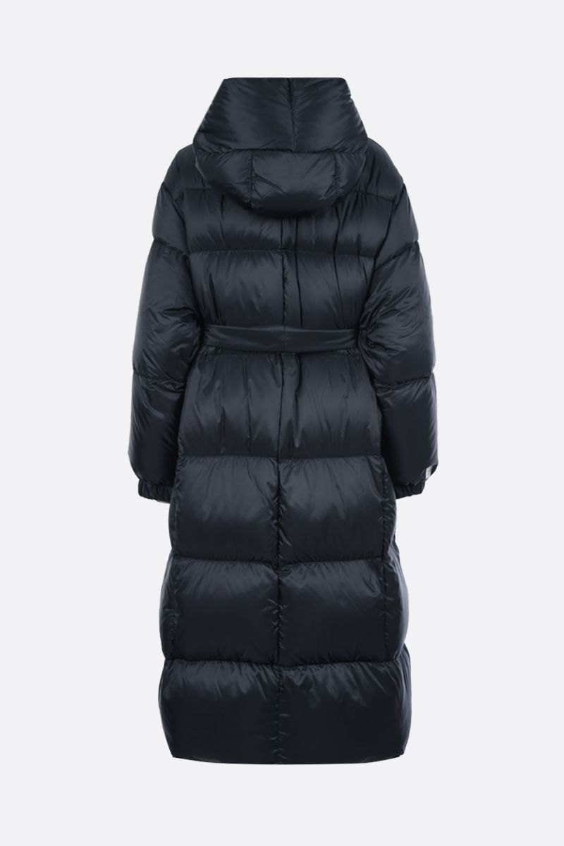 MAX MARA THE CUBE: Seico nylon down jacket Color Blue_2
