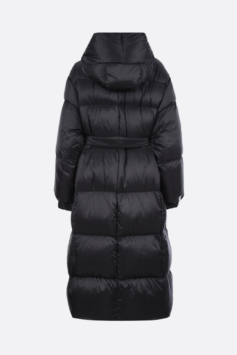 MAX MARA THE CUBE: Seico nylon down jacket Color Black_2