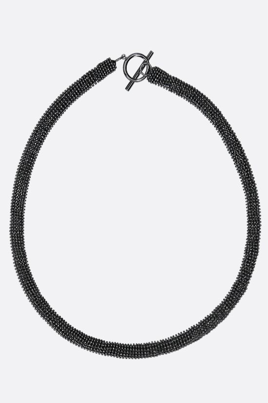 BRUNELLO CUCINELLI: monili necklace Color Grey_1