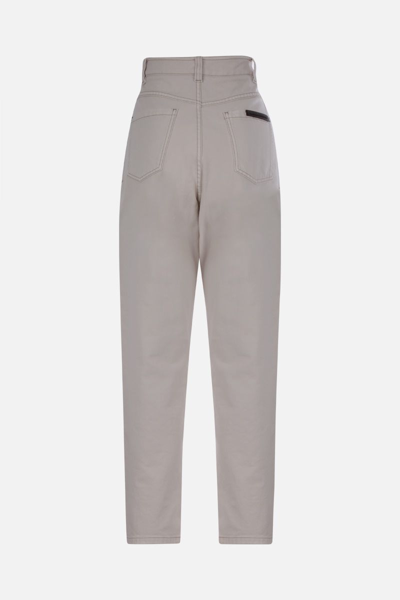 BRUNELLO CUCINELLI: monili-detailed baggy jeans_2