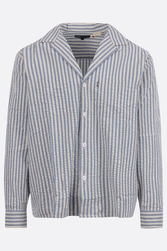 LEVI'S MADE & CRAFTED: striped cotton camp shirt Color Multicolor_1