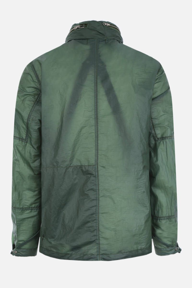 STONE ISLAND SHADOW PROJECT: giacca a vento in tessuto OPAK Colore Verde_2