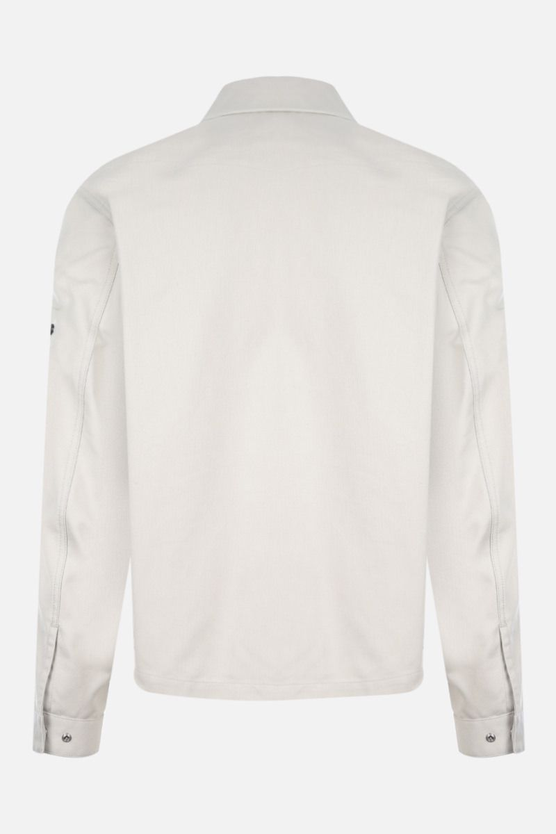 STONE ISLAND SHADOW PROJECT: giacca-camicia full-zip in cotone Colore Grey_2