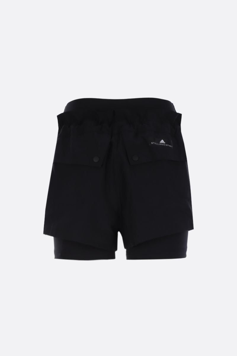 ADIDAS BY STELLA McCARTNEY: High Intensity nylon shorts Color Black_2