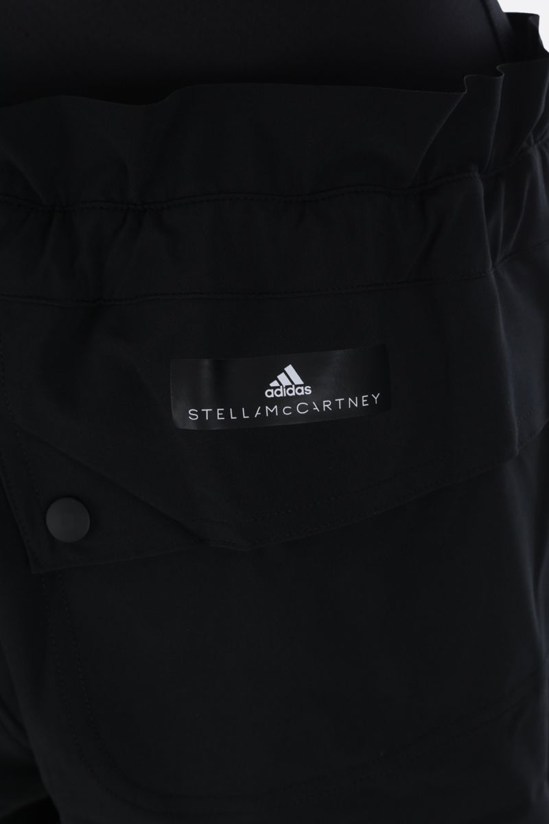 ADIDAS BY STELLA McCARTNEY: High Intensity nylon shorts Color Black_3