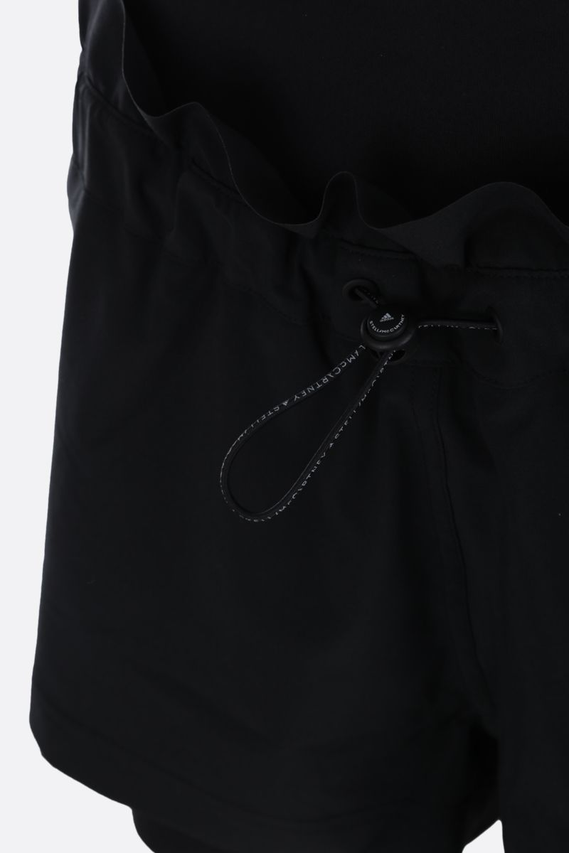 ADIDAS BY STELLA McCARTNEY: High Intensity nylon shorts Color Black_4