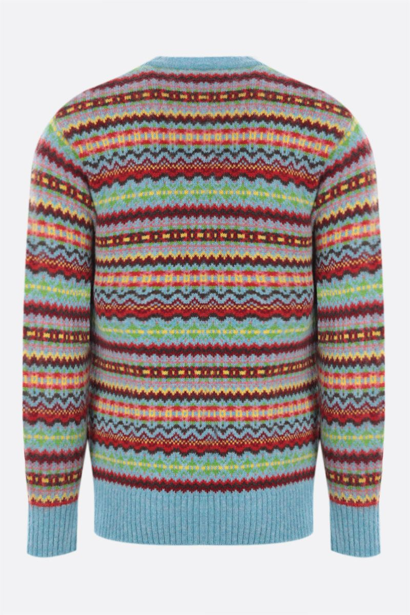 MOLLY GODDARD: Gene wool pullover with allover Fair Isle Color Multicolor_2