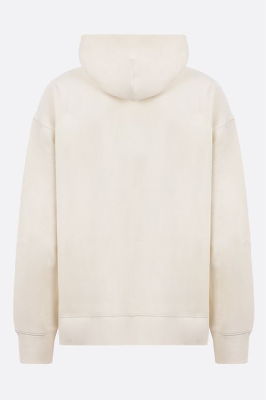 LEVI'S MADE & CRAFTED: oversize full-zip jersey hoodie Color Neutral_2