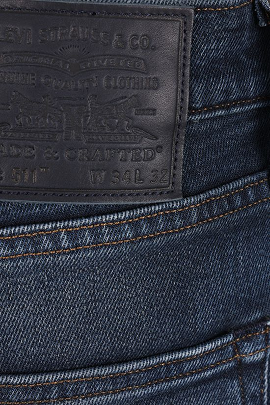 LEVI'S MADE & CRAFTED: jeans 511™ Slim Colore Blue_3