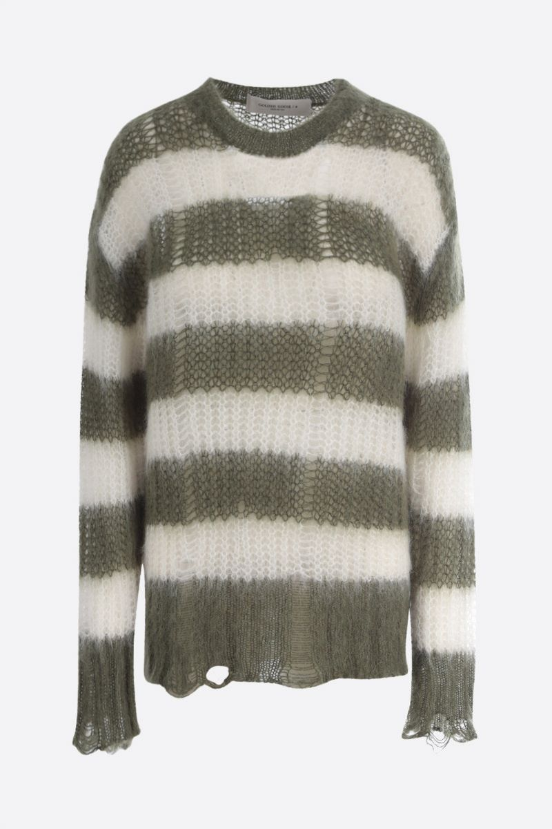 GOLDEN GOOSE DELUXE BRAND: Antonicca mohair blend pullover Color Multicolor_1