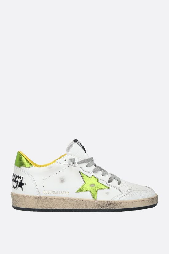 GOLDEN GOOSE DELUXE BRAND: Ball Star smooth leather sneakers_1
