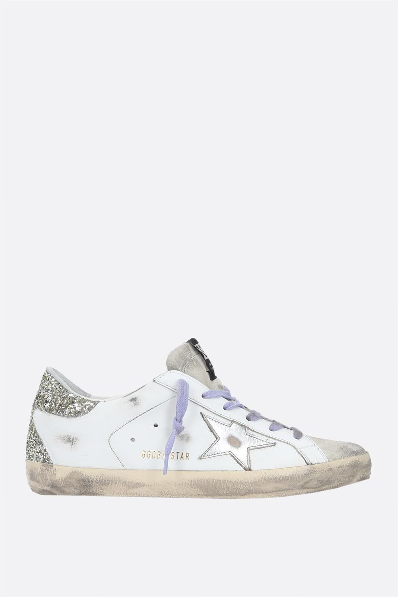 GOLDEN GOOSE DELUXE BRAND: Superstar smooth leather sneakers Color Multicolor_1