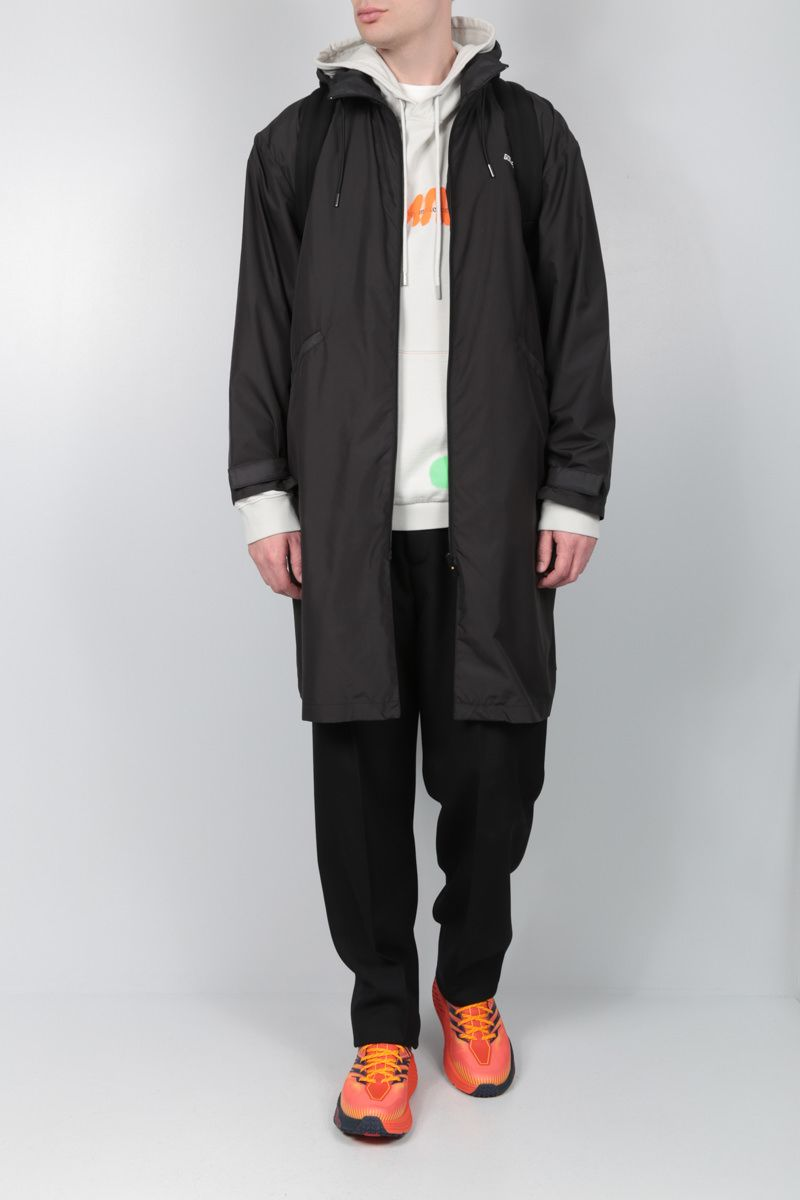 GOLDEN GOOSE DELUXE BRAND: Landon nylon parka Color Black_2