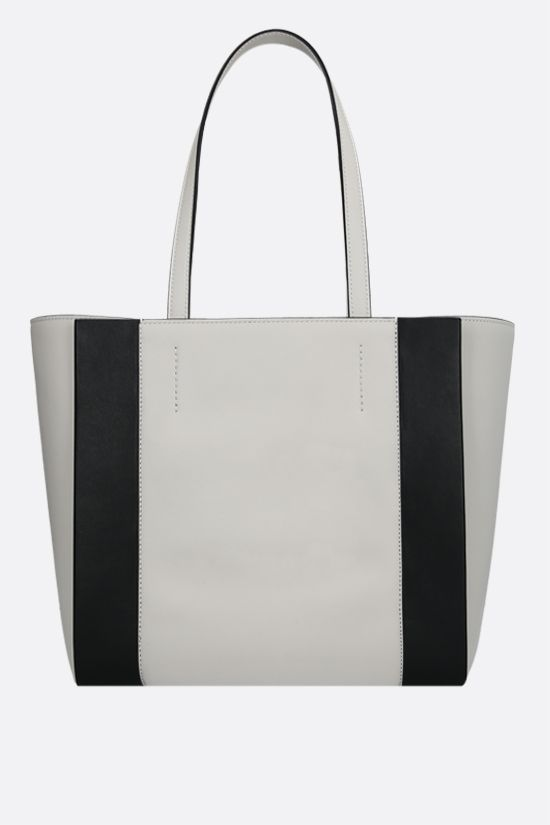ALEXANDER McQUEEN: Sign small smooth leather tote bag Color Neutral_3