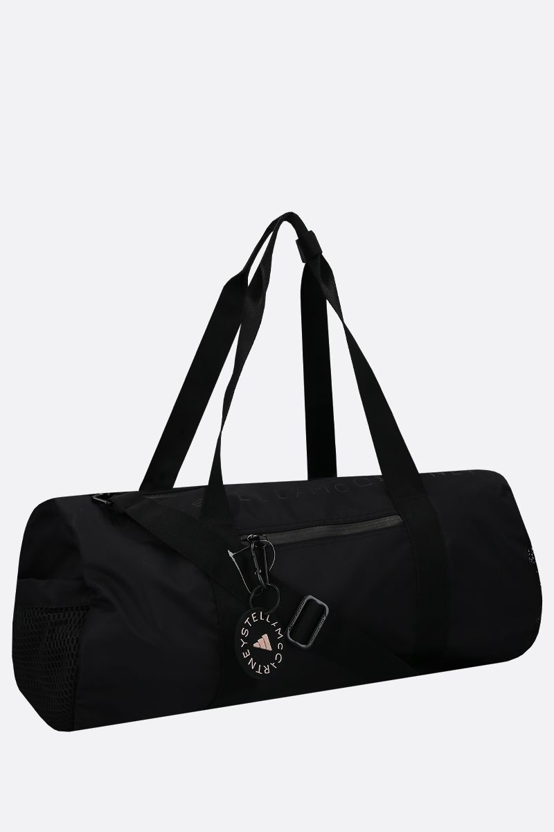 ADIDAS BY STELLA McCARTNEY: adidas by Stella McCartney Round nylon weekend bag Color Black_2