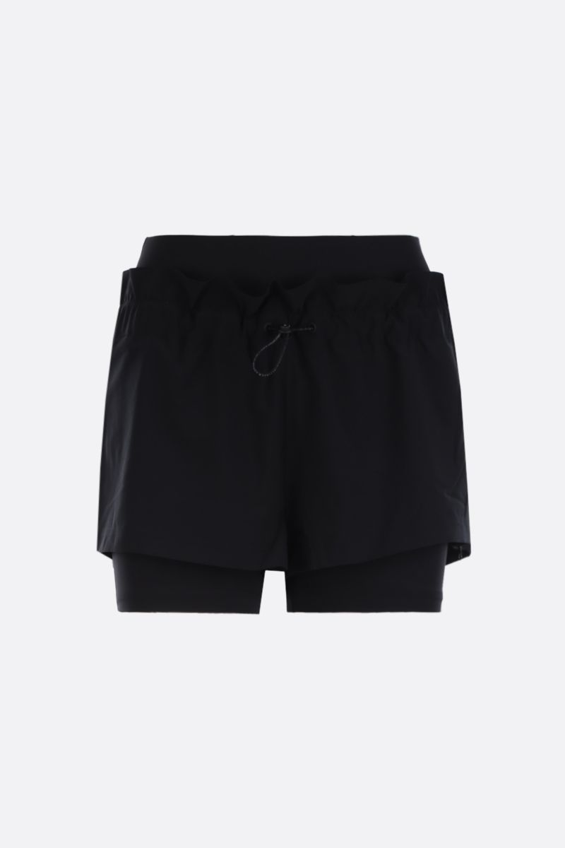ADIDAS BY STELLA McCARTNEY: High Intensity nylon shorts Color Black_1