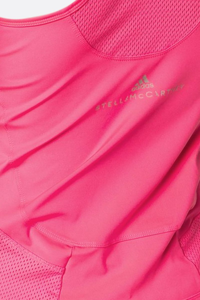 ADIDAS BY STELLA McCARTNEY: Essentials technical fabric tank top Color Pink_3