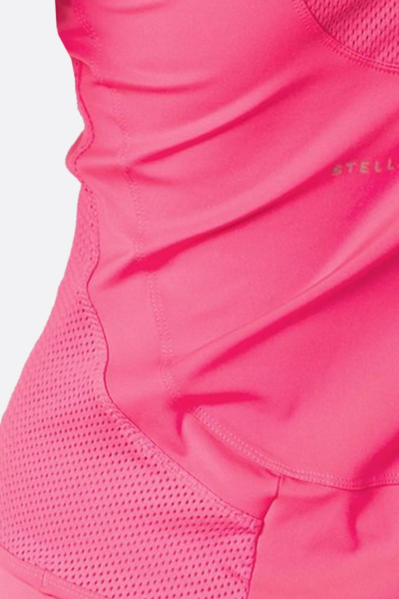 ADIDAS BY STELLA McCARTNEY: Essentials technical fabric tank top Color Pink_4
