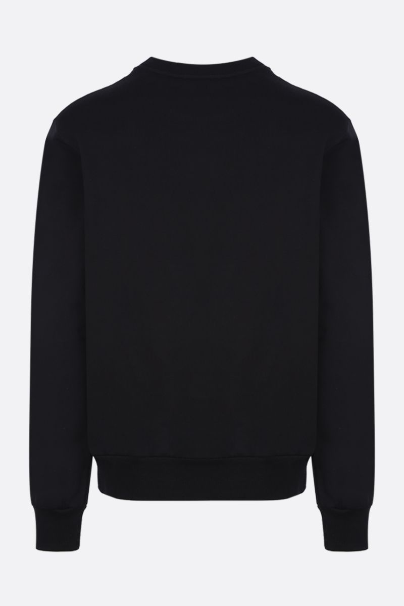 DOLCE & GABBANA: DG Heritage print cotton sweatshirt Color Black_2