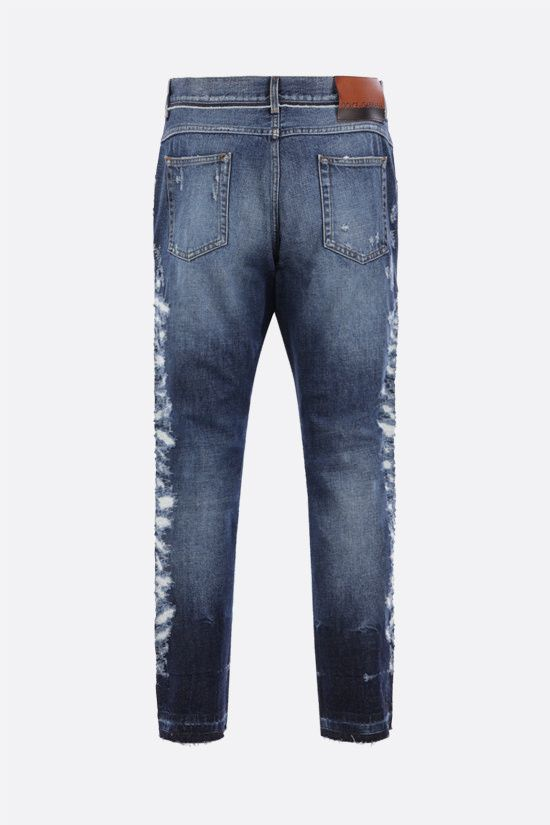 DOLCE & GABBANA: distressed-effect regular-fit jeans Color Multicolor_2