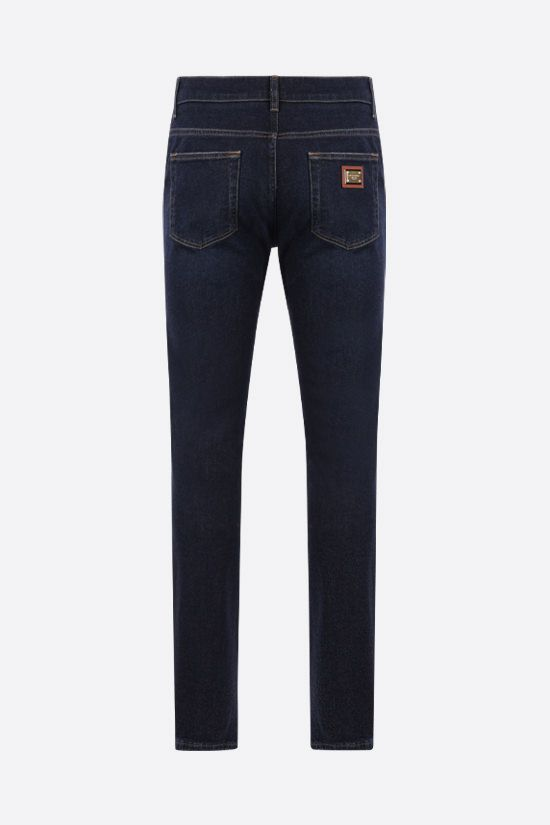 DOLCE & GABBANA: skinny-fit jeans Color Multicolor_2