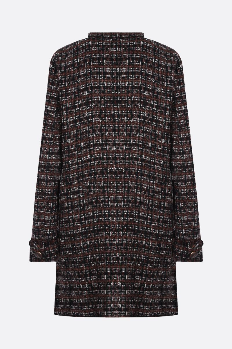 DOLCE & GABBANA: cappotto monopetto in tweed_2